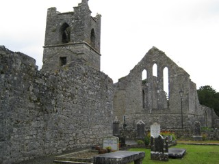 photo of Abbey's Church burial ground