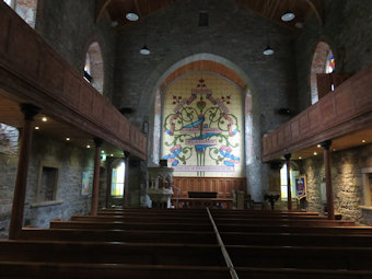 photo of St Columba (interior)'s monuments