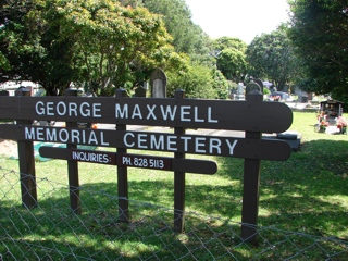 photo of George Maxwell Memorial