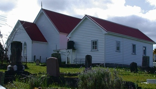 photo of South Kaipara Co-operating Anglican Methodist's Church burial ground