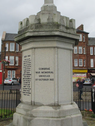 photo of Millport War Memorial