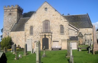 photo of Cramond Kirk's Church burial ground