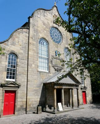 photo of Canongate Kirk's Church burial ground