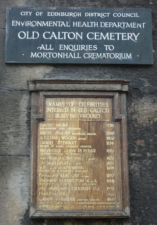 photo of Old Calton Cemetery