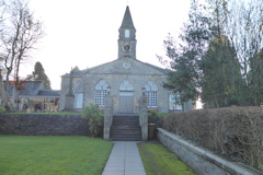 photo of Currie Kirk's Church burial ground