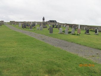 photo of Osmundwall (Kirkhope new) Cemetery