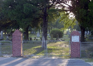 photo of Antioch Pentacostal's Church burial ground