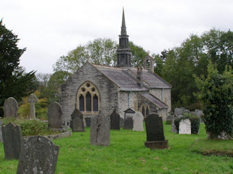 photo of St Cynllo's Church burial ground