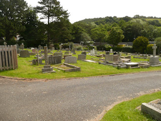 photo of Bron-y-Nant (section A) Cemetery