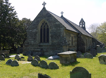 photo of St Ffraid's Church burial ground