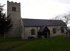 photo of St Cynfarch and St Mary's Church burial ground