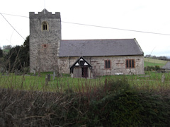 photo of St Mary and St Mwrog's Church burial ground