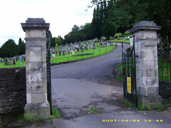photo of Ecumenical Partnership's Church burial ground