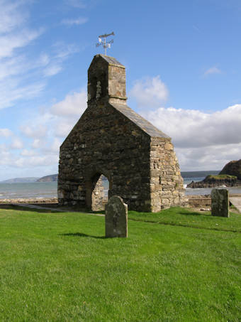 photo of St Brynach the Abbot's Church burial ground