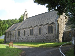 photo of St David's Church burial ground