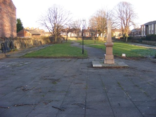 photo of Dissenters Burial Ground's Church burial ground