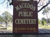 Public Church burial ground, Macedon