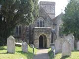 All Saints Church burial ground, Fawley
