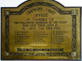 Post Office Roll of Honour