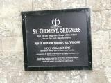 St Clement Church burial ground, Skegness