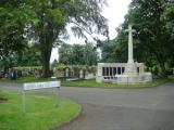 Manor Park War Memorial w,