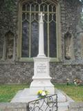 War Memorial , Dickleburgh