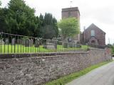 St Oswald Church burial ground, Hinstock