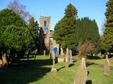 Holy Trinity Church burial ground, Dacre Banks